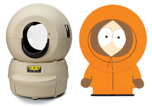 litter-robot-model-ii-bubble-kenny-south-park