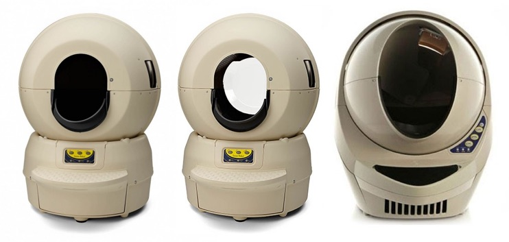 "Litter-Robot Model II ""Classic"" — Model II ""Bubble"" — Model III ""Open Air"""